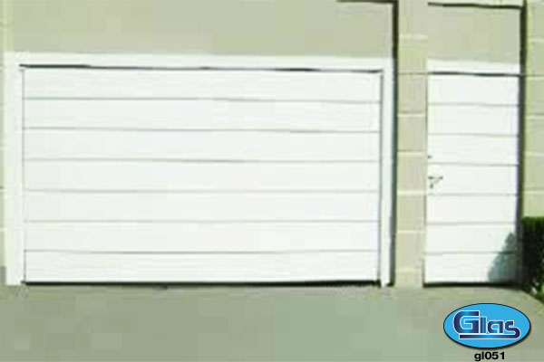 PORTÃO MODELO GL 51<div style='clear:both;width:100%;height:0px;'></div><span class='desc'>Fechamento em chapa (lisa Cartola) 25 cm na horizontal.</span>