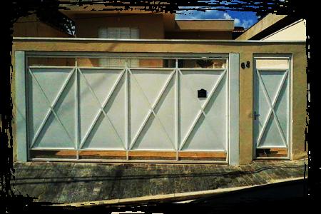 Glas Portão Automático